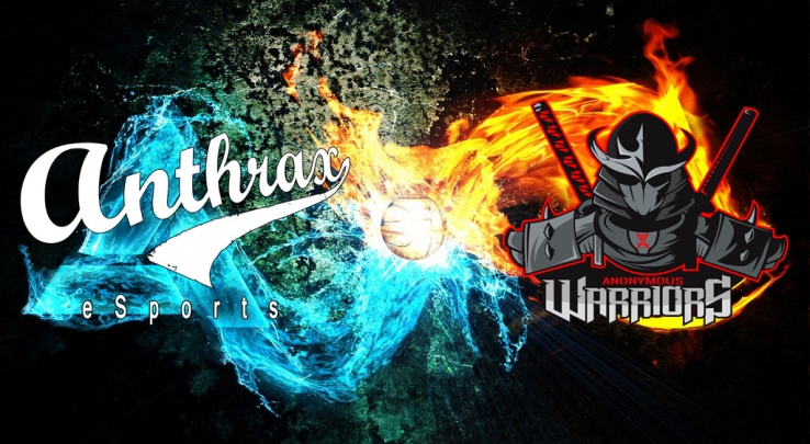 Warriors Anonymous now Sponsored by Anthrax eSports