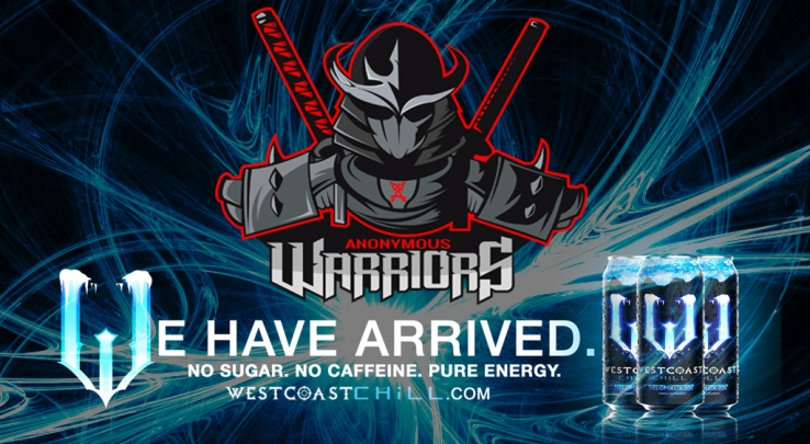 West Coast Chill has arrived! Now partnered with Warriors Anonymous