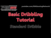 Pro Evolution Soccer 2013: Basics of Dribbling Tutorial (HD)